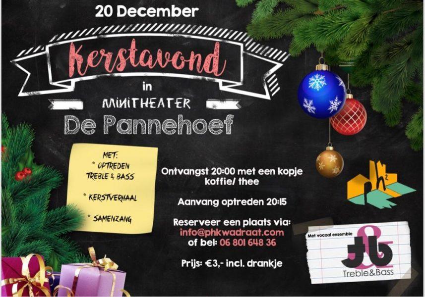 Kerstavond in Productiehuis de Pannehoef