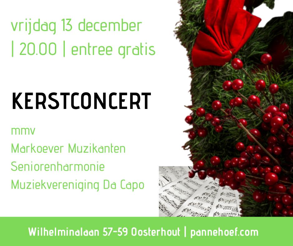 Pannehoef podium voor passie Kerstconcert 2019